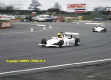 AYRTON SENNA Ralt RT3 F3 Silverstone photo 1983 (c)